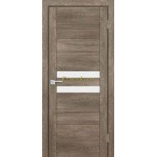 Дверь PSN- 4 Бруно антико  белый лакобель со стеклом (Товар № ZF114397)