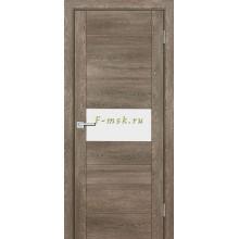 Дверь PSN- 5 Бруно антико  белый лакобель со стеклом (Товар № ZF114401)