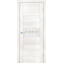Дверь PSN- 5 Бьянко антико  белый лакобель со стеклом (Товар № ZF114402)
