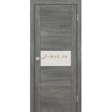 Дверь PSN- 5 Гриджио антико  белый лакобель со стеклом (Товар № ZF114404)