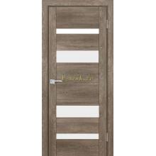Дверь PSN- 6 Бруно антико  белый лакобель со стеклом (Товар № ZF114406)
