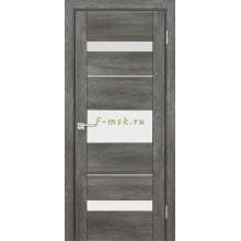 Дверь PSN- 7 Гриджио антико  белый лакобель со стеклом (Товар № ZF114412)