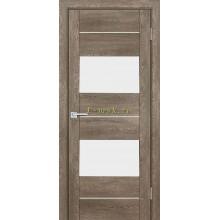 Дверь PSN- 8 Бруно антико  белый лакобель со стеклом (Товар № ZF114414)