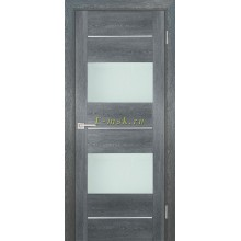 Дверь PSN- 8 Гриджио антико  белый лакобель со стеклом (Товар № ZF114416)