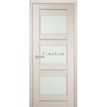 Дверь PSS-11 Перламутровый дуб  белый лакобель со стеклом (Товар № ZF114441)