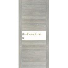 Дверь PX-3 Дуб грей патина  серый лакобель со стеклом (Товар № ZF114482)