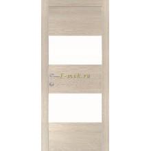 Дверь PX-4 Капучино Мелинга  белый лакобель со стеклом (Товар № ZF114488)