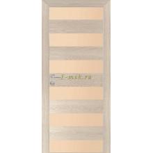 Дверь PX-5 Капучино Мелинга  кремовый лакобель со стеклом (Товар № ZF114491)