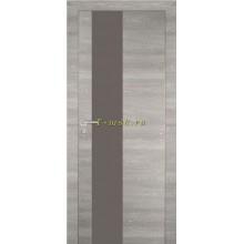 Дверь PX-6 Дуб грей патина  серый лакобель со стеклом (Товар № ZF114495)