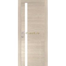 Дверь PX-8 Капучино Мелинга  белый лакобель со стеклом (Товар № ZF114507)