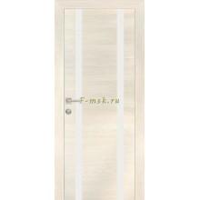 Дверь PX-9 ЭшВайт Мелинга  белый лакобель со стеклом (Товар № ZF114513)