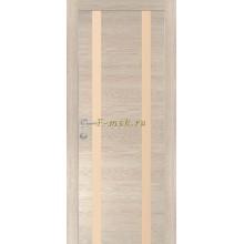 Дверь PX-9 Капучино Мелинга  кремовый лакобель со стеклом (Товар № ZF114512)
