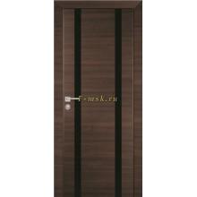 Дверь PX-9 Вязь эминем  черный лакобель со стеклом (Товар № ZF114510)