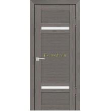 Дверь PS-05 Грей Мелинга  белый сатинат со стеклом (Товар № ZF114103)