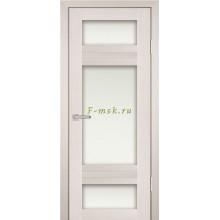 Дверь PS-06 ЭшВайт Мелинга  белый сатинат со стеклом (Товар № ZF114112)