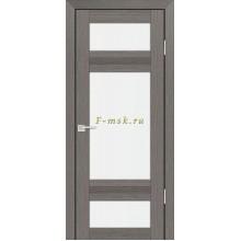 Дверь PS-06 Грей Мелинга  белый сатинат со стеклом (Товар № ZF114109)