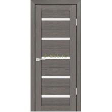 Дверь PS-07 Грей Мелинга  белый сатинат со стеклом (Товар № ZF114116)
