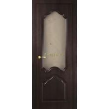Дверь Кардинал Венге Мелинга  Сатинат, художественное, фьюзинг со стеклом (Товар № ZF114592)