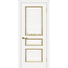 Дверь Мурано-2 Белый золото  глухое (Товар № ZF114629)