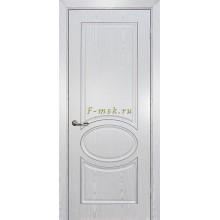 Дверь Сиена-1 патина Белый серебро  глухое (Товар № ZF114649)