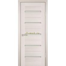Дверь PS-07 ЭшВайт Мелинга  белый сатинат со стеклом (Товар № ZF114125)