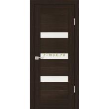 Дверь PS-09 Венге Мелинга  белый сатинат со стеклом (Товар № ZF114129)