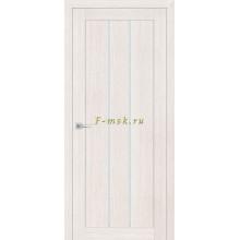Дверь ТЕХНО-602 ЭшВайт  белый сатинат со стеклом (Товар № ZF114768)