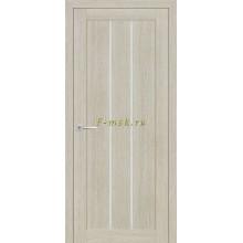 Дверь ТЕХНО-602 Капучино  белый сатинат со стеклом (Товар № ZF114765)