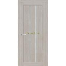 Дверь ТЕХНО-602 Светло серый  белый сатинат со стеклом (Товар № ZF114767)