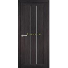 Дверь ТЕХНО-602 Венге  белый сатинат со стеклом (Товар № ZF114764)