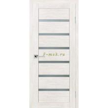 Дверь ТЕХНО-607 ЭшВайт  белый сатинат со стеклом (Товар № ZF114773)