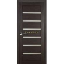 Дверь ТЕХНО-607 Венге  белый сатинат со стеклом (Товар № ZF114769)