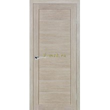 Дверь ТЕХНО-608 Капучино  белый сатинат со стеклом (Товар № ZF114775)