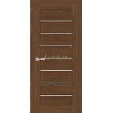 Дверь ТЕХНО-608 Орех Ночавелла  белый сатинат со стеклом (Товар № ZF114776)