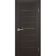 Дверь ТЕХНО-608 Венге  белый сатинат со стеклом (Товар № ZF114774)