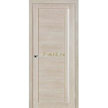 Дверь ТЕХНО-641 Капучино  белый сатинат со стеклом (Товар № ZF114780)