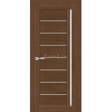 Дверь ТЕХНО-641 Орех Ночавелла  белый сатинат со стеклом (Товар № ZF114781)