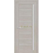 Дверь ТЕХНО-641 Светло серый  белый сатинат со стеклом (Товар № ZF114782)