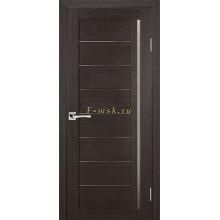 Дверь ТЕХНО-641 Венге  белый сатинат со стеклом (Товар № ZF114779)