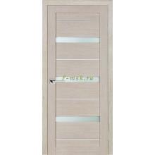 Дверь ТЕХНО-642 Капучино  белый сатинат со стеклом (Товар № ZF114787)