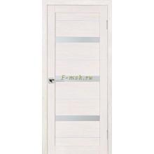 Дверь ТЕХНО-642 ЭшВайт  белый сатинат со стеклом (Товар № ZF114793)