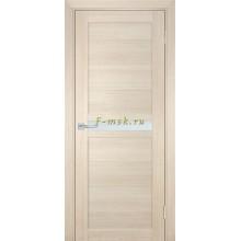 Дверь ТЕХНО-703 Капучино  белый сатинат со стеклом (Товар № ZF114802)