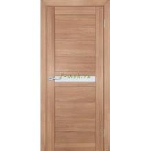 Дверь ТЕХНО-703 Миндаль  белый сатинат со стеклом (Товар № ZF114803)