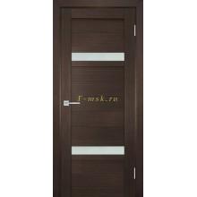 Дверь ТЕХНО-705 Венге  белый сатинат со стеклом (Товар № ZF114805)