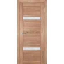 Дверь ТЕХНО-705 Миндаль  белый сатинат со стеклом (Товар № ZF114808)