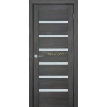 Дверь ТЕХНО-707 Грей  белый сатинат со стеклом (Товар № ZF114811)