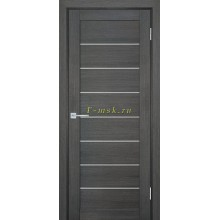 Дверь ТЕХНО-708 Грей  белый сатинат со стеклом (Товар № ZF114816)