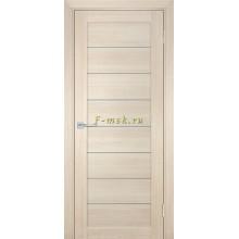 Дверь ТЕХНО-708 Капучино  белый сатинат со стеклом (Товар № ZF114817)