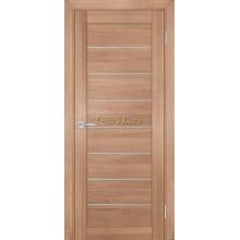 Дверь ТЕХНО-708 Миндаль  белый сатинат со стеклом (Товар № ZF114818)