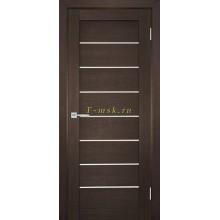 Дверь ТЕХНО-708 Венге  белый сатинат со стеклом (Товар № ZF114815)